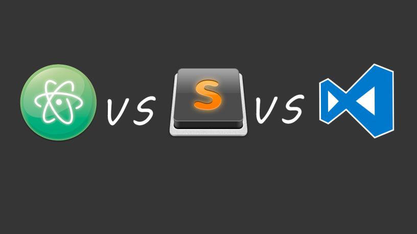 مقایسه ی atom ، vscode و sublime برای توسعه وب